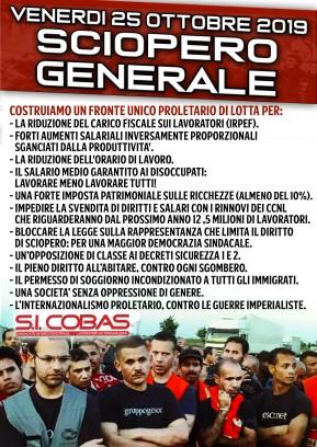 2019-10 SCIOPERO GENERALE