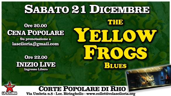yallow frogs